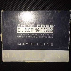 Maybelline Oil Blotting Papers 25 pack
